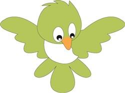 Green Bird print art