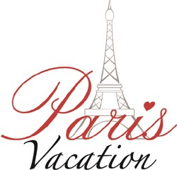 Paris Vacation print art