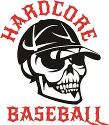 Hardcore Baseball print art
