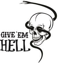 Give Em Hell print art