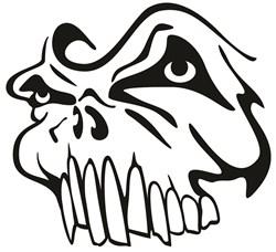 Skull Face print art
