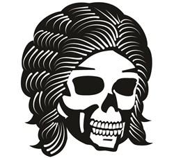 Goth Skull print art