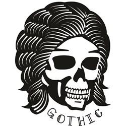 Gothic print art