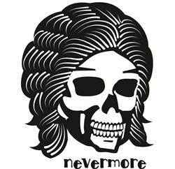 Nevermore print art