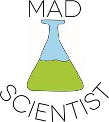 Mad Scientist print art