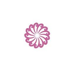 Swirl Mandala print art