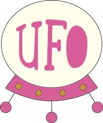 UFO print art