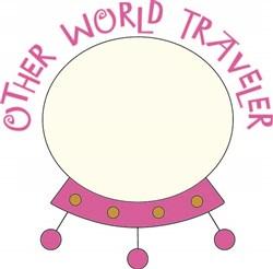 Other World Traveler print art