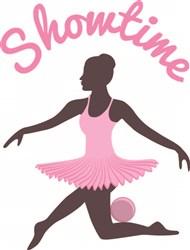 Ballerina Showtime print art