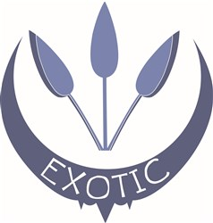 Exotic Flowers print art
