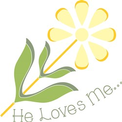 He Loves Me print art