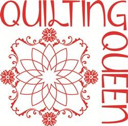 Quilting Queen print art
