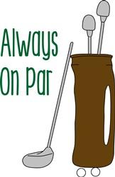 Par Golf print art