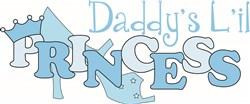 Daddys Princess print art