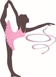 Gymnast Dancer print art