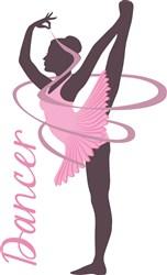 Dancer Gymnast print art