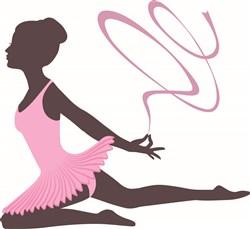 Ribbon Dancer print art