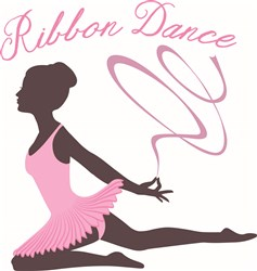 Ribbon Dance print art