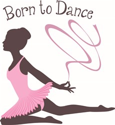 Born to Dance print art