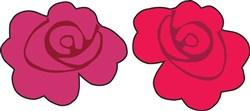 Rose Flower print art