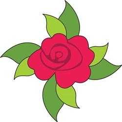 Rose Leaves print art