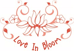 Love in Bloom print art