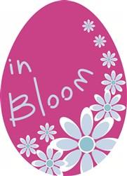 In Bloom Egg print art
