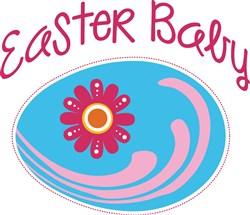 Easter Baby print art