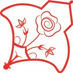 Red Rose print art