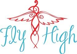 Fly High print art