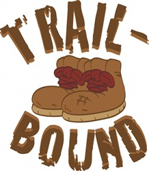 Trail Bound print art
