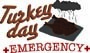 Turkey Day Emergency print art
