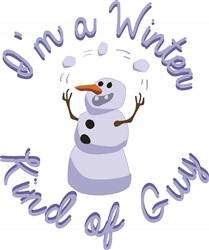 A Winter Guy print art