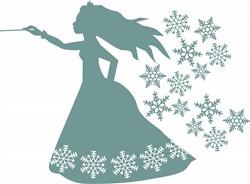 Snow Princess print art