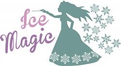 Ice Magic print art