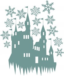 Snow Castle print art