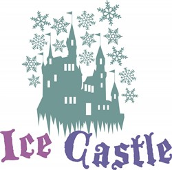 Ice Castle print art