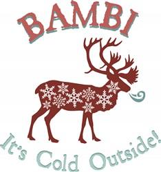 Cold Outside print art
