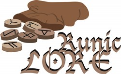 Runic Lore print art