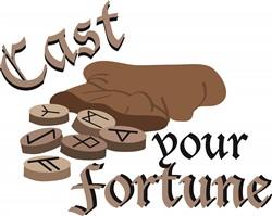 Cast Your Fortune print art