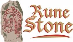 Rune Stone print art