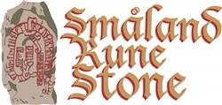 Smaland Rune Stone print art