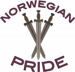 Norwegian Pride print art