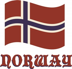 Norway print art