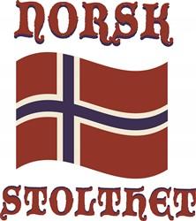 Norsk Stolthet print art
