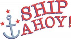 Ship Ahoy print art