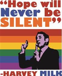 Never Be Silent print art