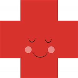 Red Cross print art