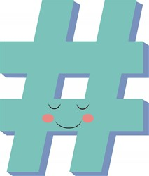 Hash Tag print art