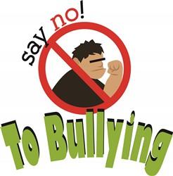 No Bullying print art